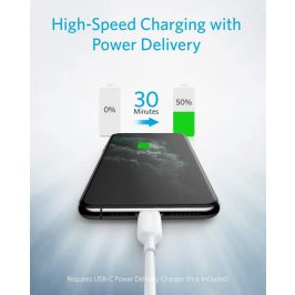Anker Powerline III USB C to Lightning Cable (3 ft)