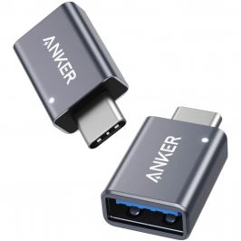 Anker USB-C to USB 3.0 Adapter USB C Adapter (2 Pack)