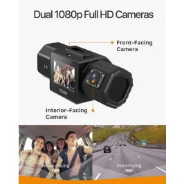Anker Roav Dual Dash Cam Car Camera Recorder